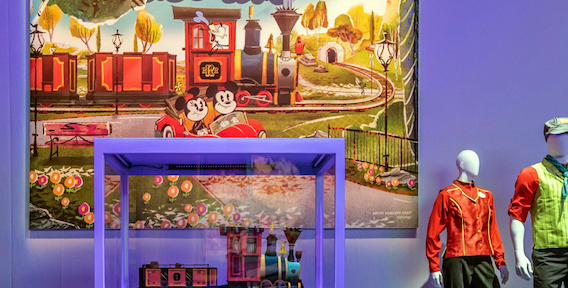 Mickey and Minnie's Runaway Railway Train Revealed