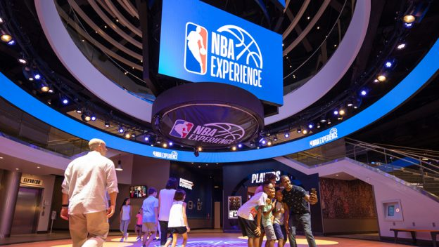 Disney is Streaming the Grand Opening of The NBA Experience