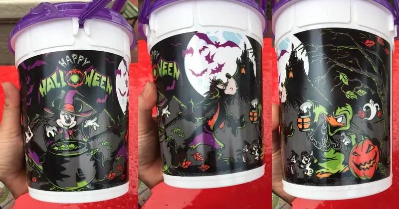 New Halloween Popcorn Bucket Spotted At Magic Kingdom