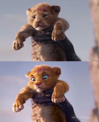 Disney Fan Reanimates Live-Action 'The Lion King' Characters to Look More Like the Original Film 3
