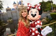 Heidi Klum debuts her Designer Minnie Mouse Ears at Disneyland