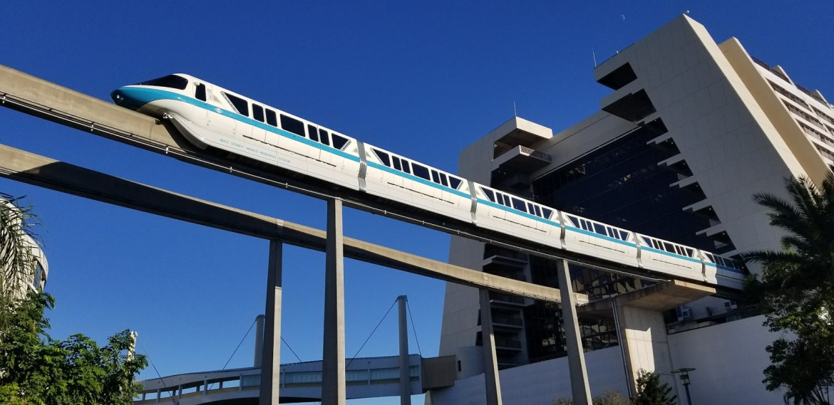 Guests evacuated from broken-down Disney monorail Thursday night