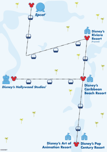 First Look at Disney's Skyliner Operation Hours 1