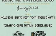 Tobymac, Chris Tomlin, Newsboys And Switchfoot To Headline Rock The Universe 2020 At Universal Orlando Resort