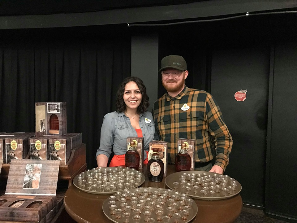 Maple Syrup Taste Testing At The Epcot Food And Wine Festival 2