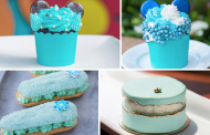 Arendelle Aqua Foodie Treats at Walt Disney World and Disneyland!