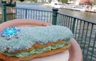 The Disney Arendelle Aqua Trend Continues with a Cotton Candy Eclair
