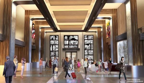 Disney's Hotel New York – The Art of Marvel to Open Summer 2020 2