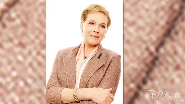 Disney Legend Julie Andrews Receives Lifetime Achievement Award