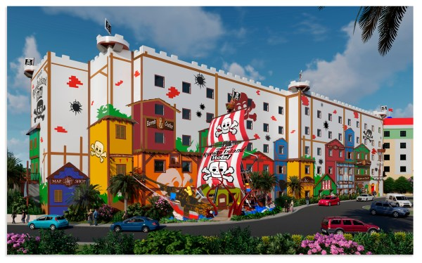 LEGOLAND Florida Reveals First Look at Pirate Island Hotel and Announces Grand Opening on April 17, 2020 2