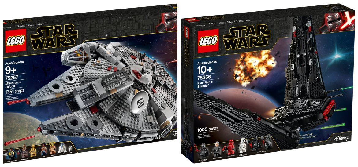 Lego Reveals New Star Wars Sets In Celebration Of Triple Force Friday