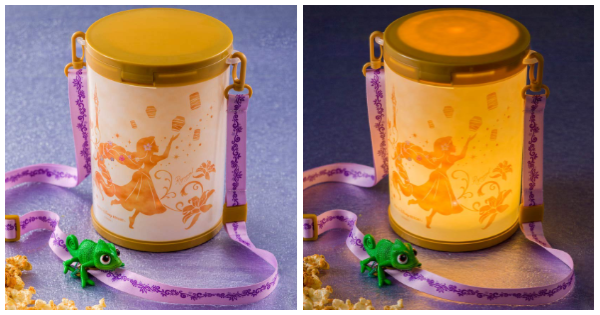 Tangled Popcorn Bucket From TDR Gleams And Glows 1