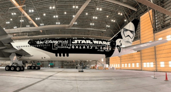 LATAM unveils new Star Wars Galaxy's Edge Inspired Plane 1