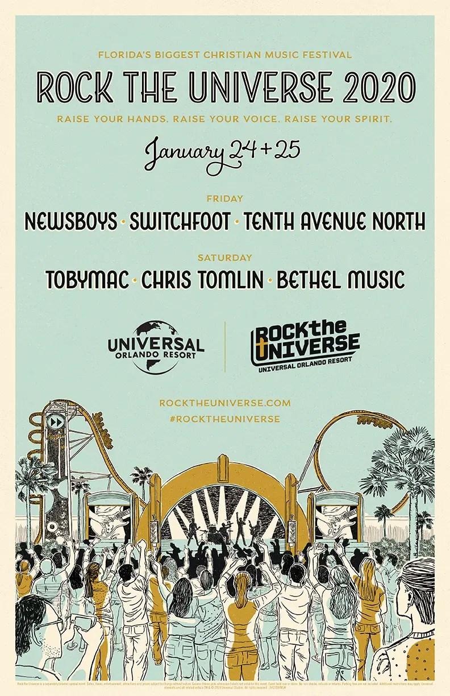 Newsboys Tour 2020.Tobymac Chris Tomlin Newsboys And Switchfoot To Headline