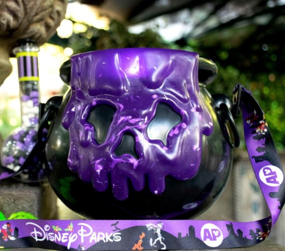 New Annual Passholder Cauldron Popcorn Bucket At Disneyland