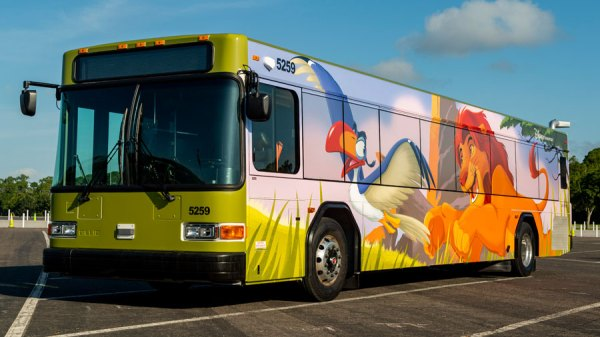 Disney rolling out even more new bus designs at Walt Disney World 3
