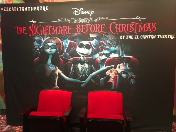 The Nightmare Before Christmas In 4D At The El Capitan Theatre