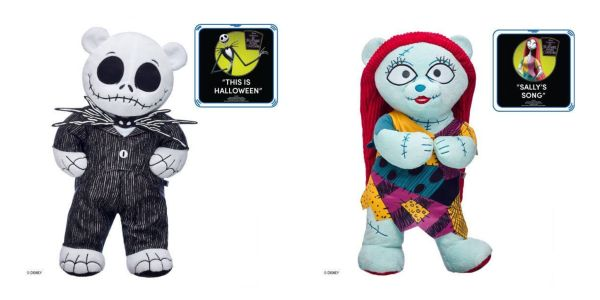 Build A Bear Christmas 2019.Nightmare Before Christmas Collection Available At Build A Bear