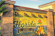 New Orange Bird Wall Spotted at Disney Springs in Walt Disney World
