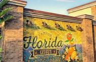 New Orange Bird Wall Spotted at Disney Springs in Walt Disney World