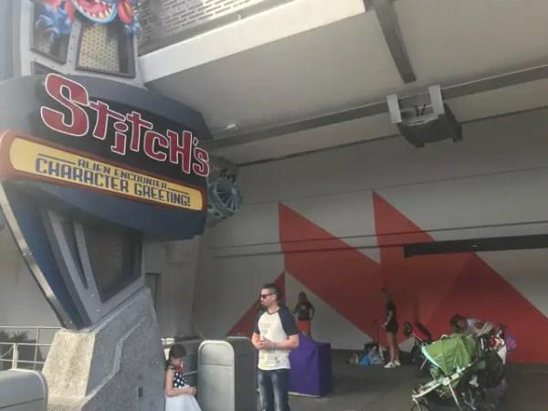New Orange Creamsicle Wall Appeared at Magic Kingdom