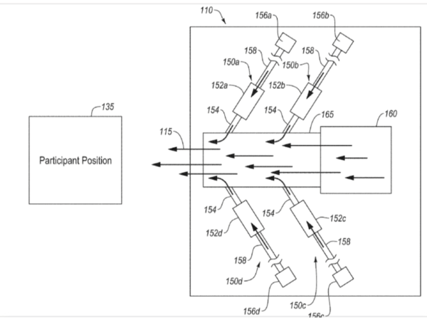 Disney Patents Scent Technology
