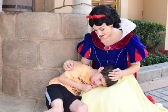 Family Experiences True Magic of Snow White While at Epcot