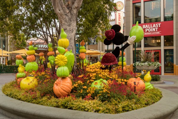 A Behinds The Scenes Look At The Fall Decor At Downtown Disney 2