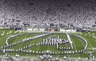 Penn State Marching Band performs Marvel Themed Halftime Show
