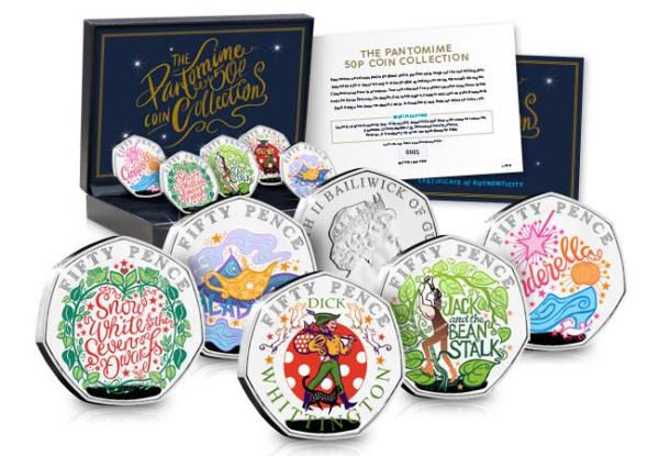 Westminster Collection Releasing Disney Coins This Christmas in the UK! 2