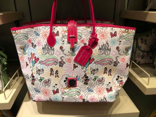 Take A Closer Look At the 10th Anniversary Disney Dooney & Bourke Handbags 3