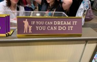 Disney Parks Desk Signs Add A Touch Of Magic To your Work Space