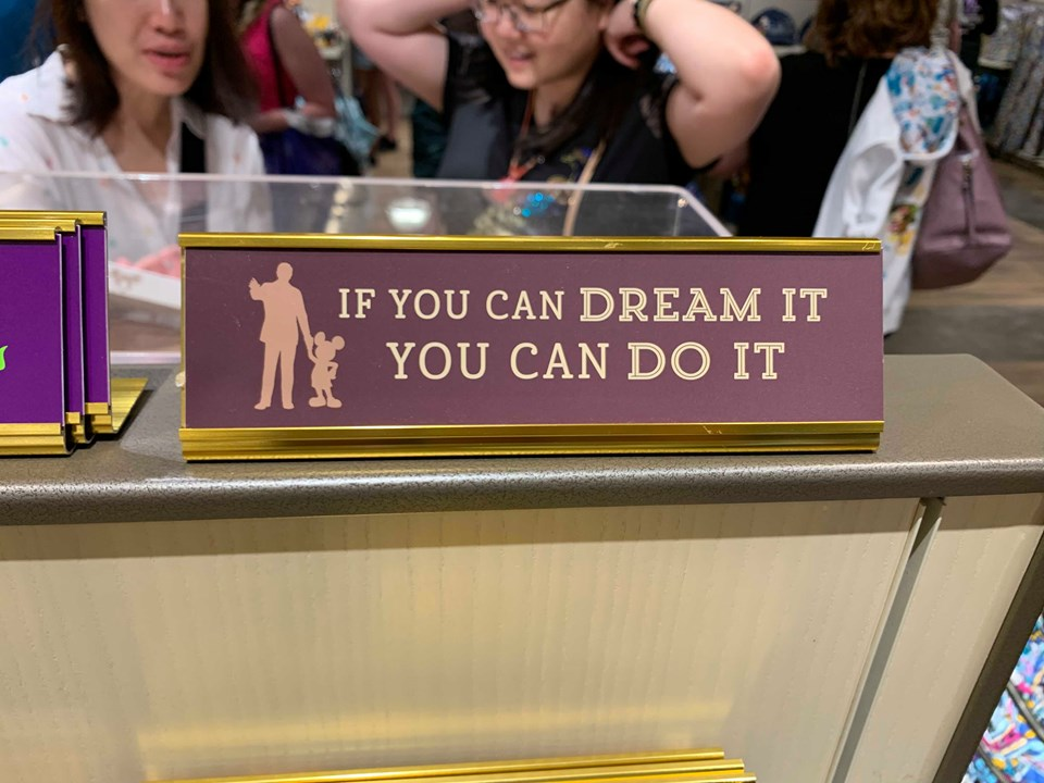 Disney Parks Desk Signs Add A Touch Of Magic To your Work Space 2