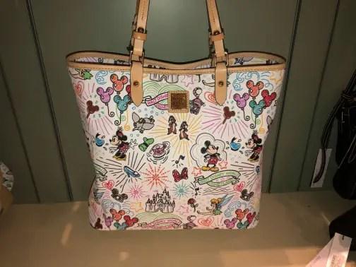 Take A Closer Look At the 10th Anniversary Disney Dooney & Bourke Handbags 5