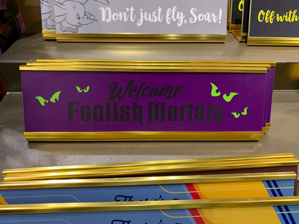Disney Parks Desk Signs Add A Touch Of Magic To your Work Space 5