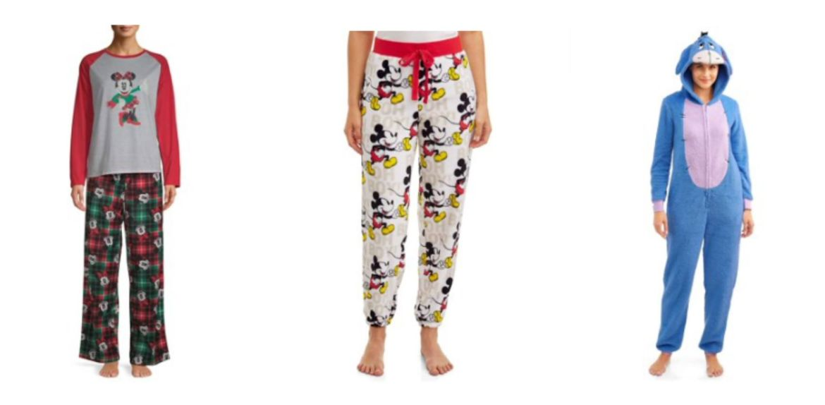 New Disney Pajamas Found At Walmart That Are Cute and Affordable