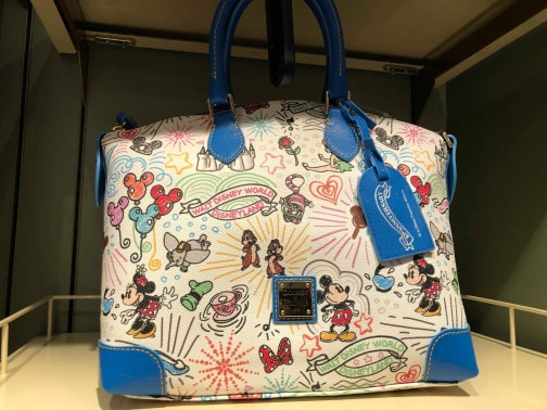 Take A Closer Look At the 10th Anniversary Disney Dooney & Bourke Handbags 10