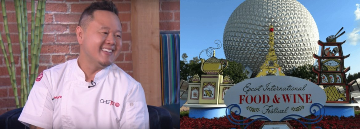 Chef Jet Showcases Asian Cuisine at the Epcot Food & Wine Festival