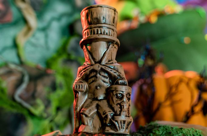 New Haunted Mansion Tiki Mug For Halloween Coming To Disneyland