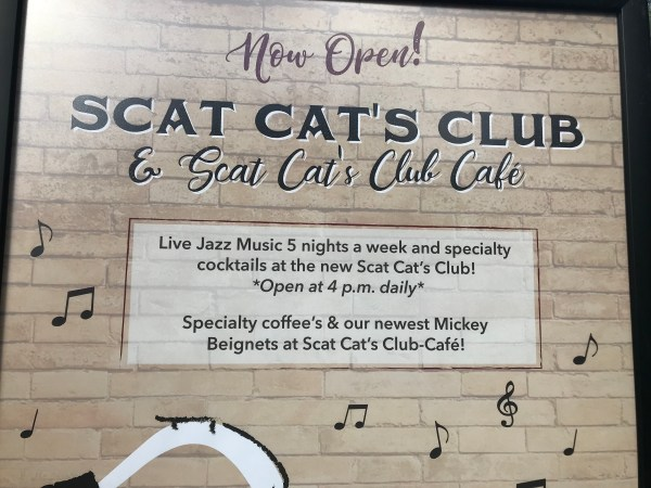 First Look At The New Scat Cat Club At Disney's French Quarter 2