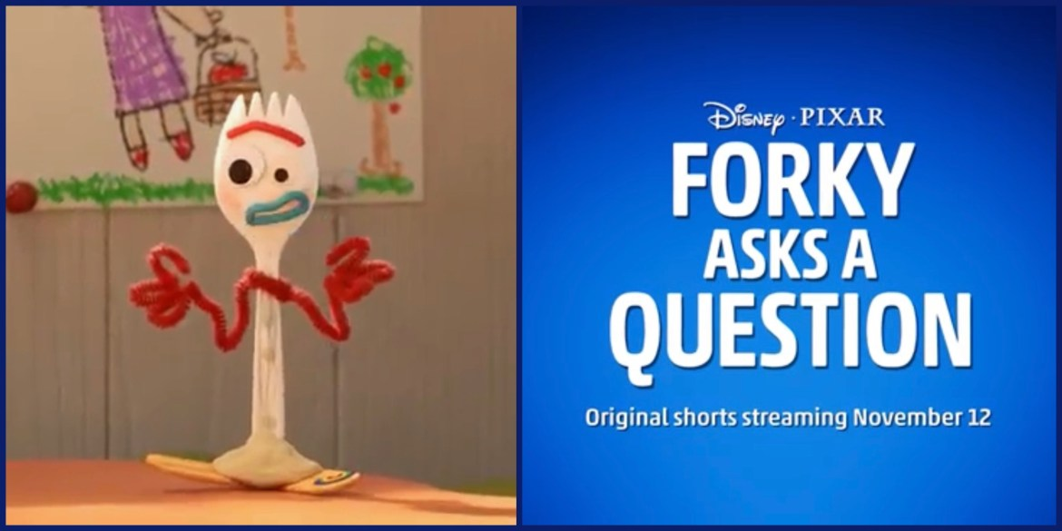 """New Trailer Released for """"Forky Asks A Question"""" Coming to Disney+"""