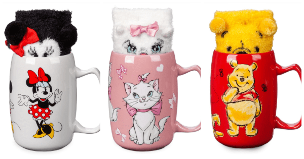 New Disney Mug and Sock Sets Serve Up Adorable Style