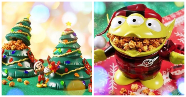 Festive New Holiday Disney Popcorn Buckets That We Absolutely Love