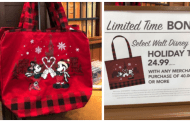 New Limited Edition Disney Holiday Tote Purchase With Purchase