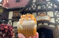 NEW: Caramel Pumpkin Cupcake At Epcot!