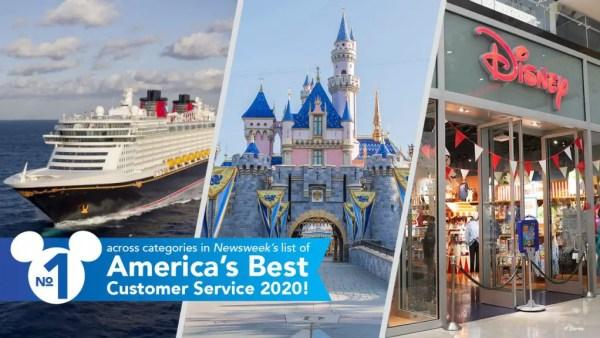 Disney Ranks #1 In Customer Service according to Newsweek Survey 1
