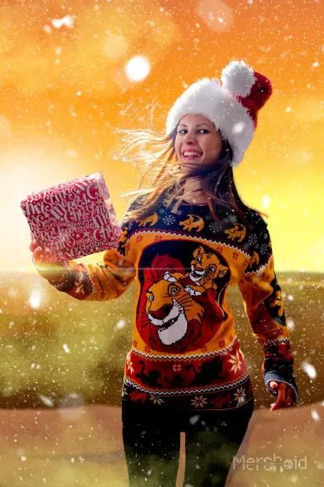 Disney Christmas Sweater Range From Merchoid Is Full Of Festive Fun 3