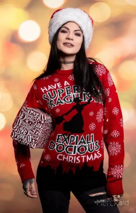 Disney Christmas Sweater Range From Merchoid Is Full Of Festive Fun 5