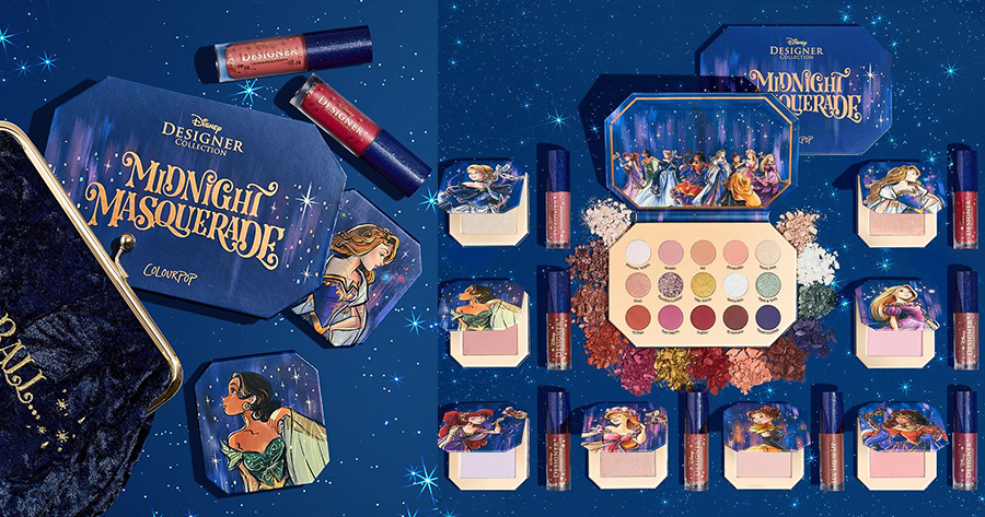 Midnight Masquerade Disney Makeup Collection From ColourPop