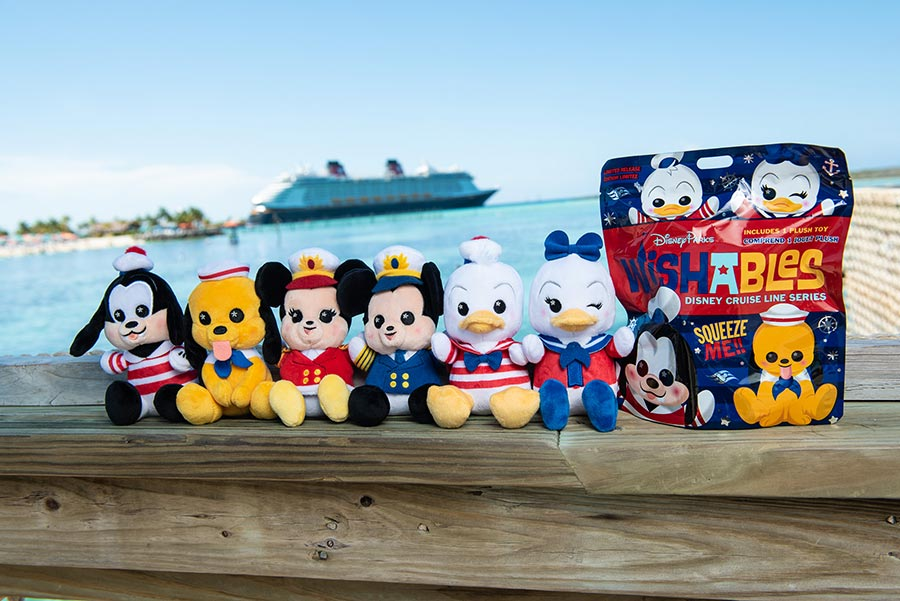 Disney Cruise Line Wishables Now Setting Sail On The High Seas